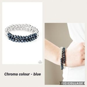 Chroma Colour Blue Bracelet